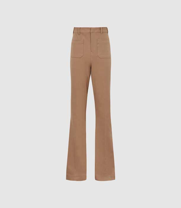 high-rise-skinny-flared-trousers-womens-sian-in-camel-brown