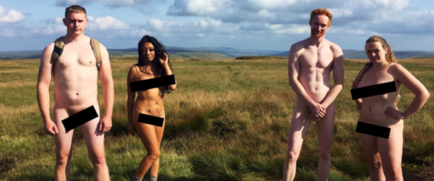 Contestants trekked across the Yorkshire Dales in the first episode of new E4 show Naked, Alone, and Racing to Get Home